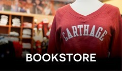 Carthage Bookstore Rotating